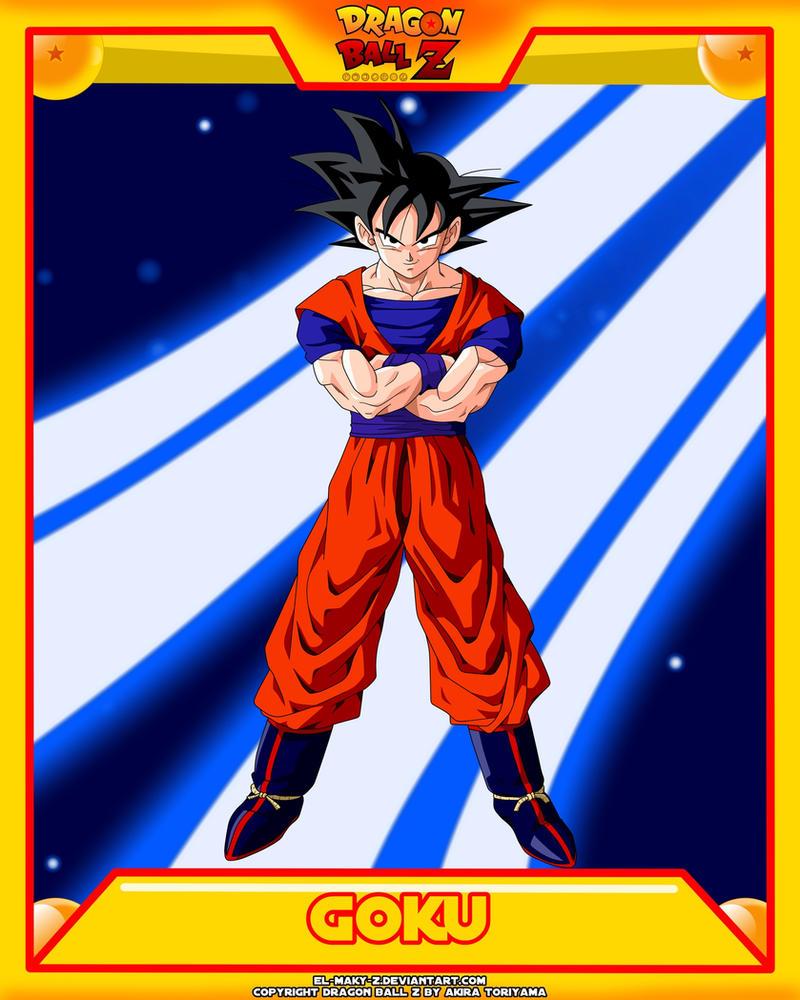 DBZ-Goku V5 by el-maky-z