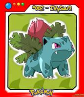 #002_Ivysaur by el-maky-z