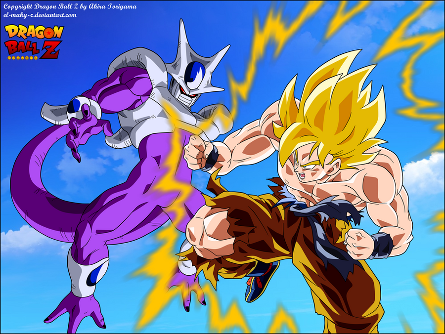 Goku Super Saiyan VS Cooler Final Form by el-maky-z on ...