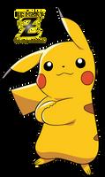 #025 Pikachu by el-maky-z