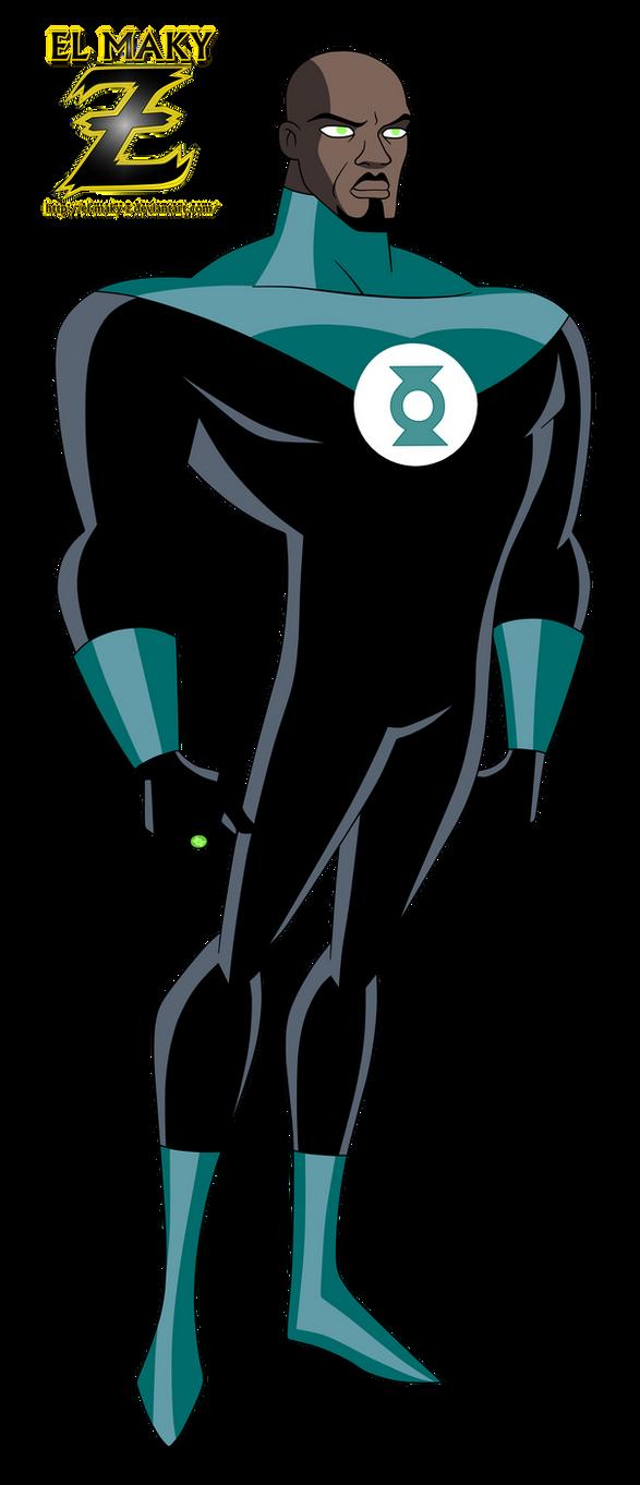 JLU_Green Lantern (John Stewart) by el-maky-z
