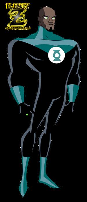 JLU_Green Lantern (John Stewart)