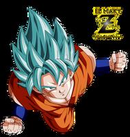 Goku FNF Super Saiyan God Super Saiyan by el-maky-z
