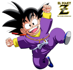 Kid Goku (Ninja Clothes)