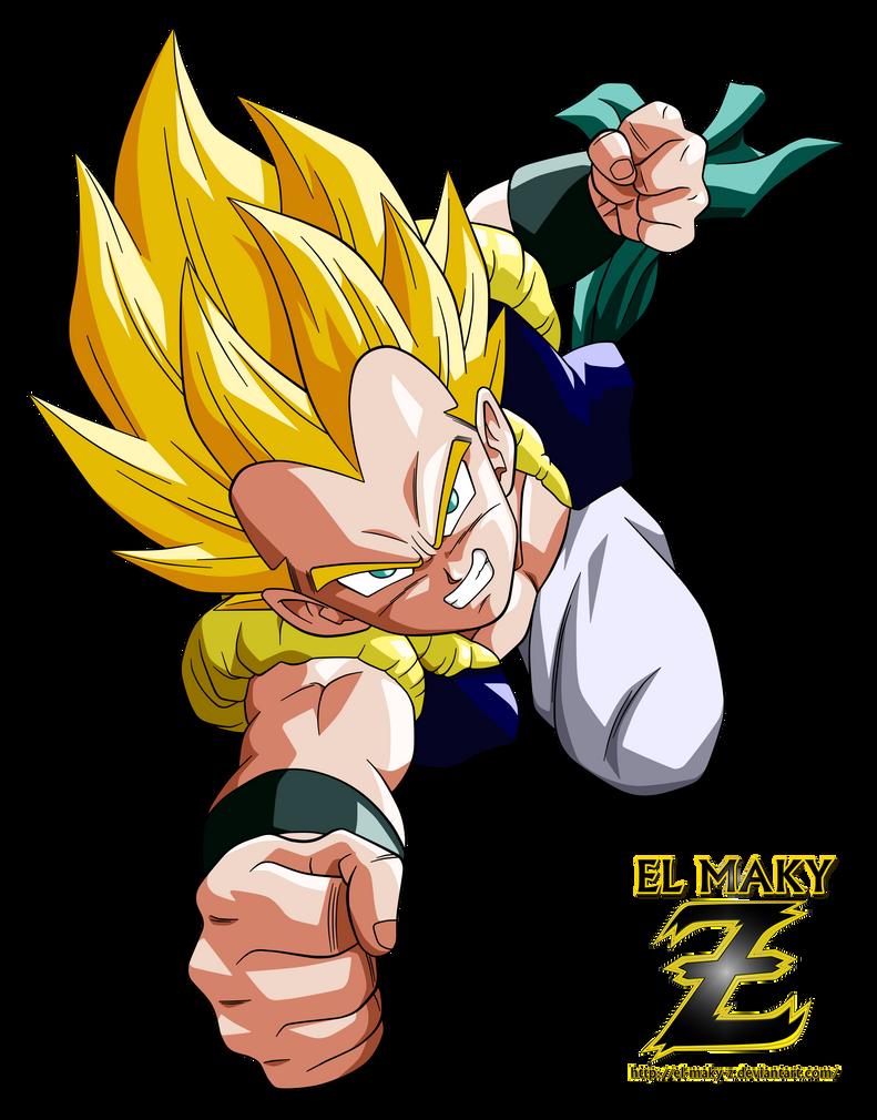 Gotenks Super Saiyan by el-maky-z