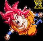Goku FNF Super Saiyan God