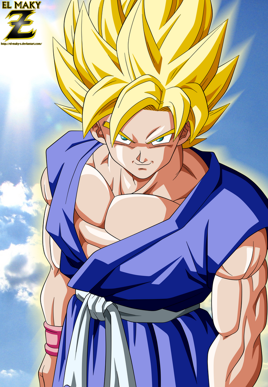 Dbgt goku super saiyan by el maky z on deviantart - Goku super sayen ...