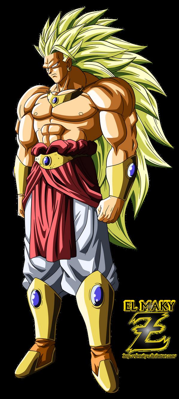Broly Legendary Super Saiyan 3 by el-maky-z