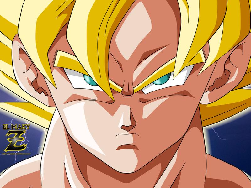 Goku SSJ by el-maky-z