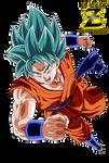 Son Goku Super Saiyan Blue God