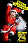 Santa Goku - Merry Christmas!!