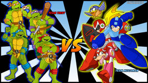 EPIC BATTLES: TMNT VS Team Megaman