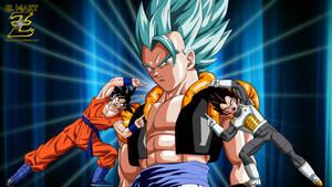 Gogeta Super Saiyan Blue - The Ultimate Fusion