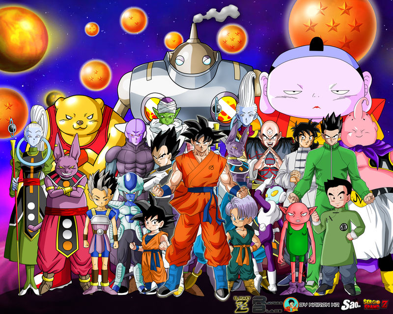 Collab Super Wallpaper Dragon Ball Super By El Maky Z On
