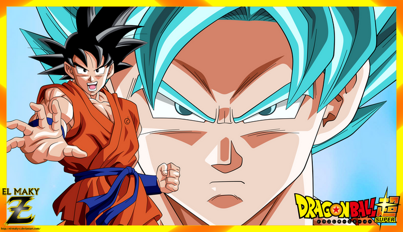 Wallpaper Dragon Ball Super  Son Goku By El Maky Z On