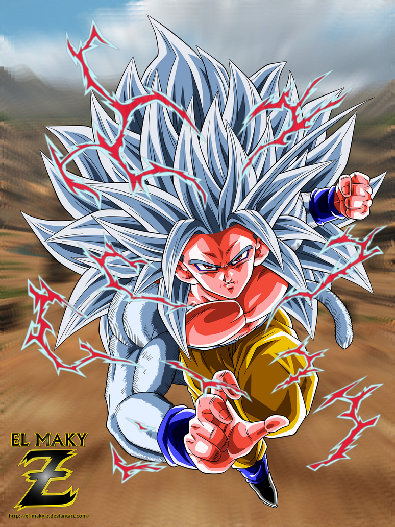 Dbaf son goku super saiyan 5 by el maky z on deviantart - Goku 5 super saiyan ...
