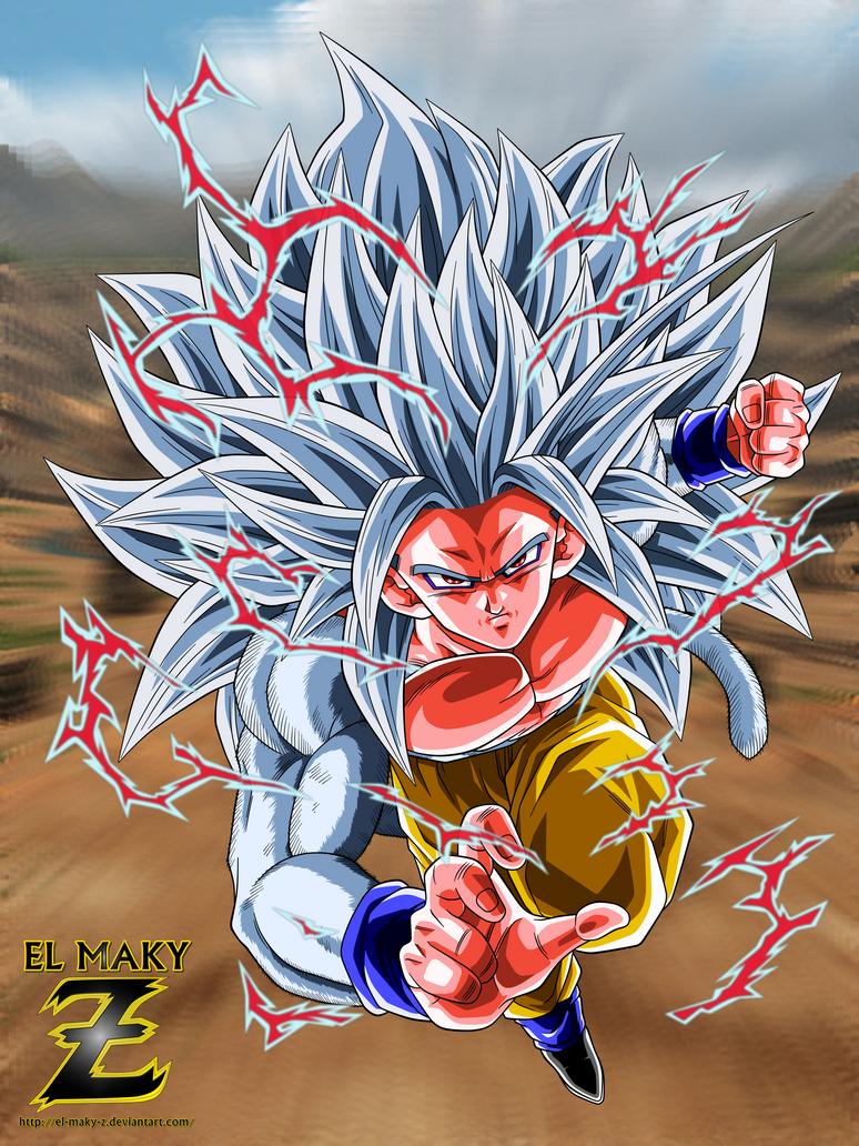 Dbaf son goku super saiyan 5 by el maky z on deviantart - Goku super sayan 5 ...