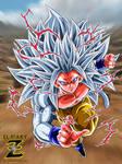 (DBAF) Son Goku Super Saiyan 5 by el-maky-z