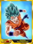 (Dragon Ball Super) Son Goku 'Super Saiyan Blue'
