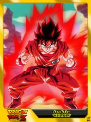 (Dragon Ball Z) Son Goku 'Kaio-Ken' by el-maky-z