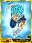 (Dragon Ball Super) Vegetto 'Super Saiyan Blue'