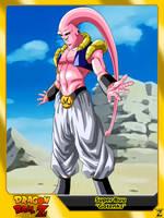 (Dragon Ball Z) Super Buu 'Gotenks' by el-maky-z