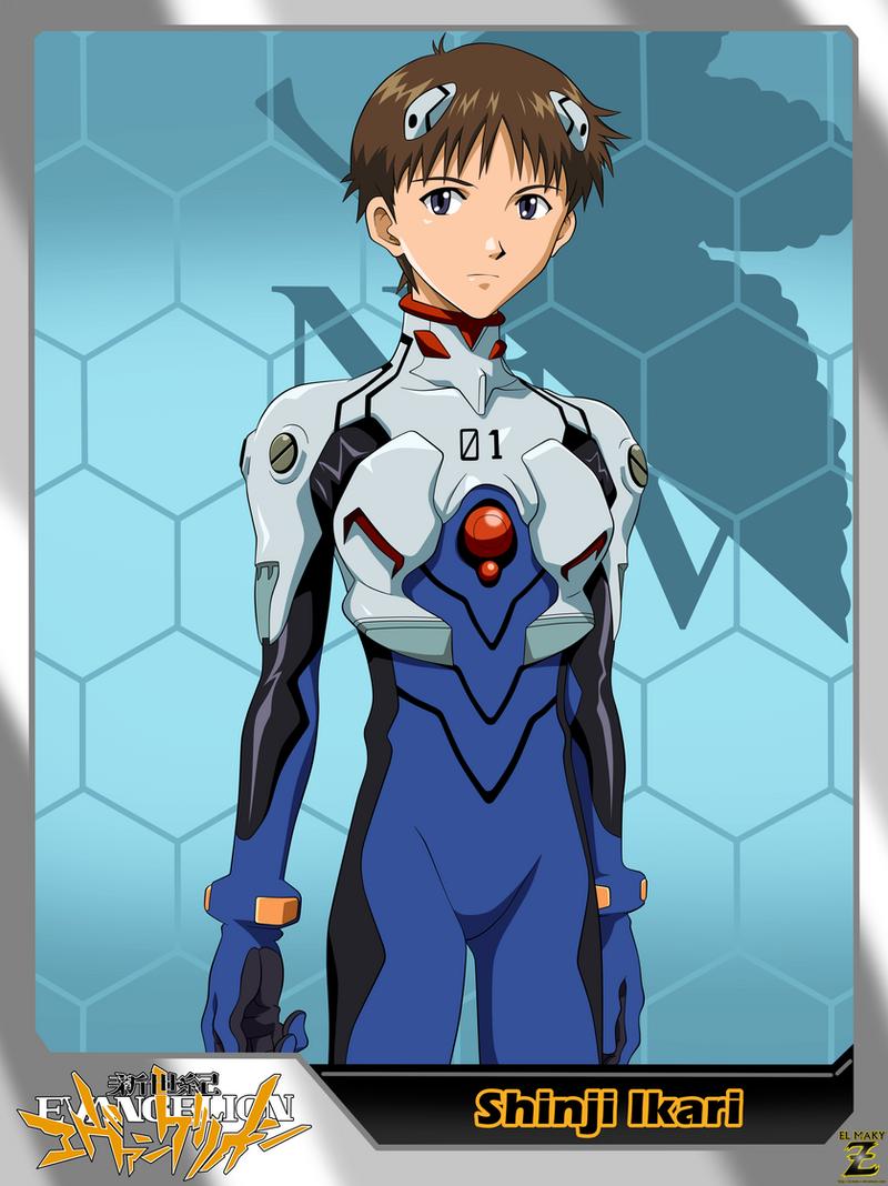 Neon Genesis Evangelion Shinji Ikari By El Maky Z On