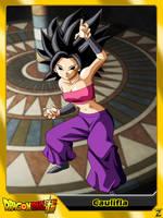 (Dragon Ball Super) Caulifla by el-maky-z