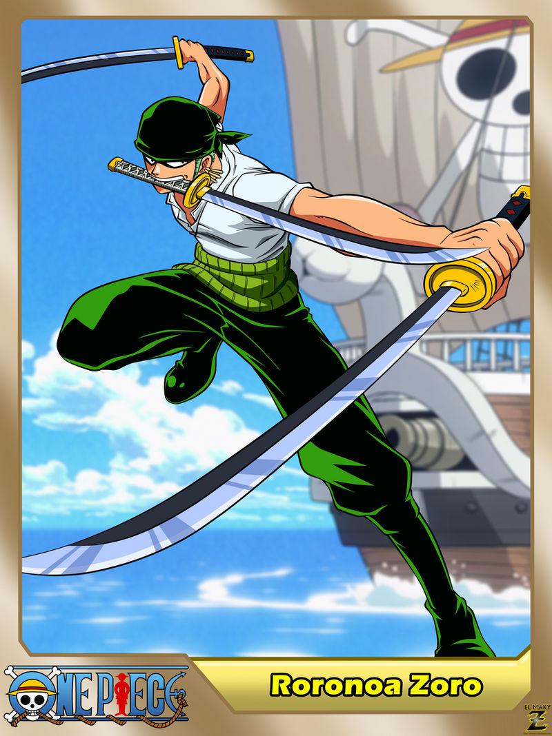 (One Piece) Roronoa Zoro by el-maky-z on DeviantArt