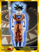 (Dragon Ball Super) Son Goku 'Migatte no Goku 'i' by el-maky-z
