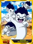 (Dragon Ball Z) Gotenks's Kamikaze Ghosts by el-maky-z