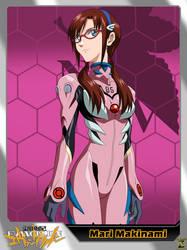 (Neon Genesis Evangelion) Mari Makinami