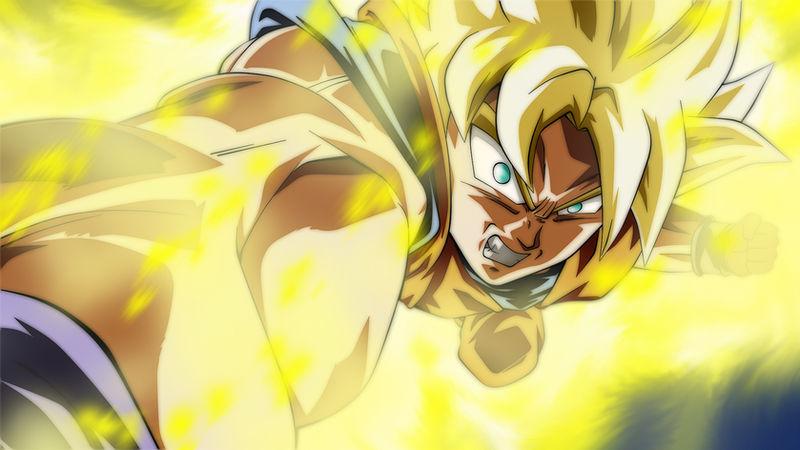 Wallpaper Son Goku Super Saiyan By El Maky Z On Deviantart