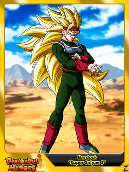(Dragon Ball Heroes) Bardock Xeno 'Super Saiyan 3'