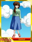 (Ranma One-Half) Kasumi Tendo by el-maky-z