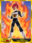 (Dragon Ball Super) Vegeta 'Super Saiyan God'