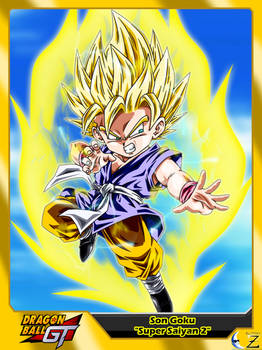 (Dragon Ball GT) Son Goku 'Super Saiyan 2'