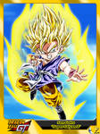 (Dragon Ball GT) Son Goku 'Super Saiyan 2' by el-maky-z