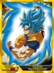 (Dragon Ball Super) Son Goku 'SSJ Blue' V2 by el-maky-z
