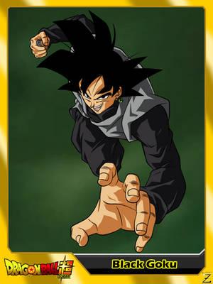 (Dragon Ball Super) Black Goku V2 by el-maky-z