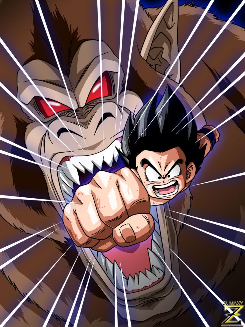 (Poster) Kid Goku - Ultimate Attack