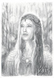 Galadriel, Lady of Light by LauraAthena