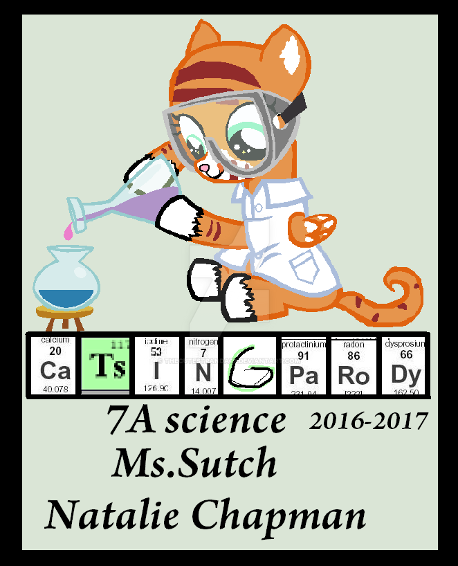 cover page for science