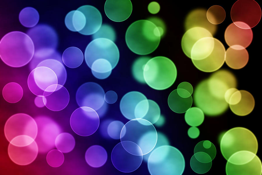 rainbow bubbles colorful - photo #16