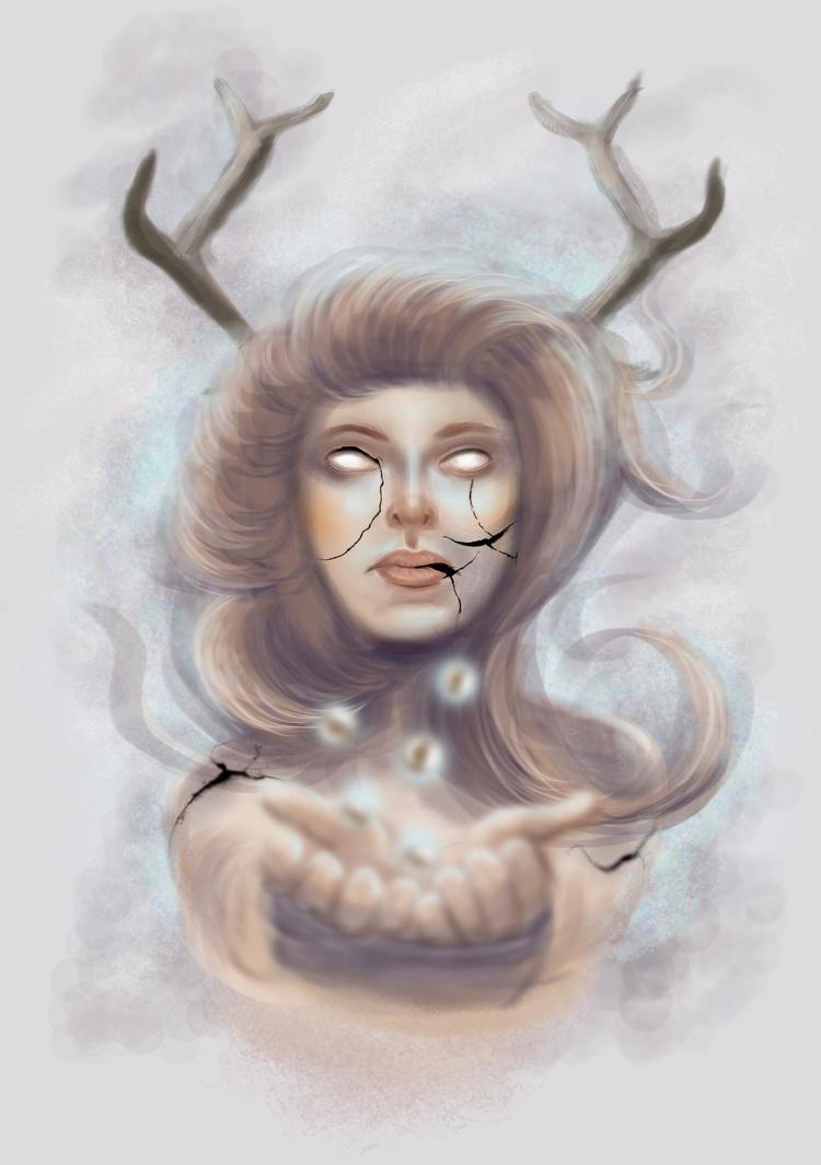 Magical sacrifice by Yahora