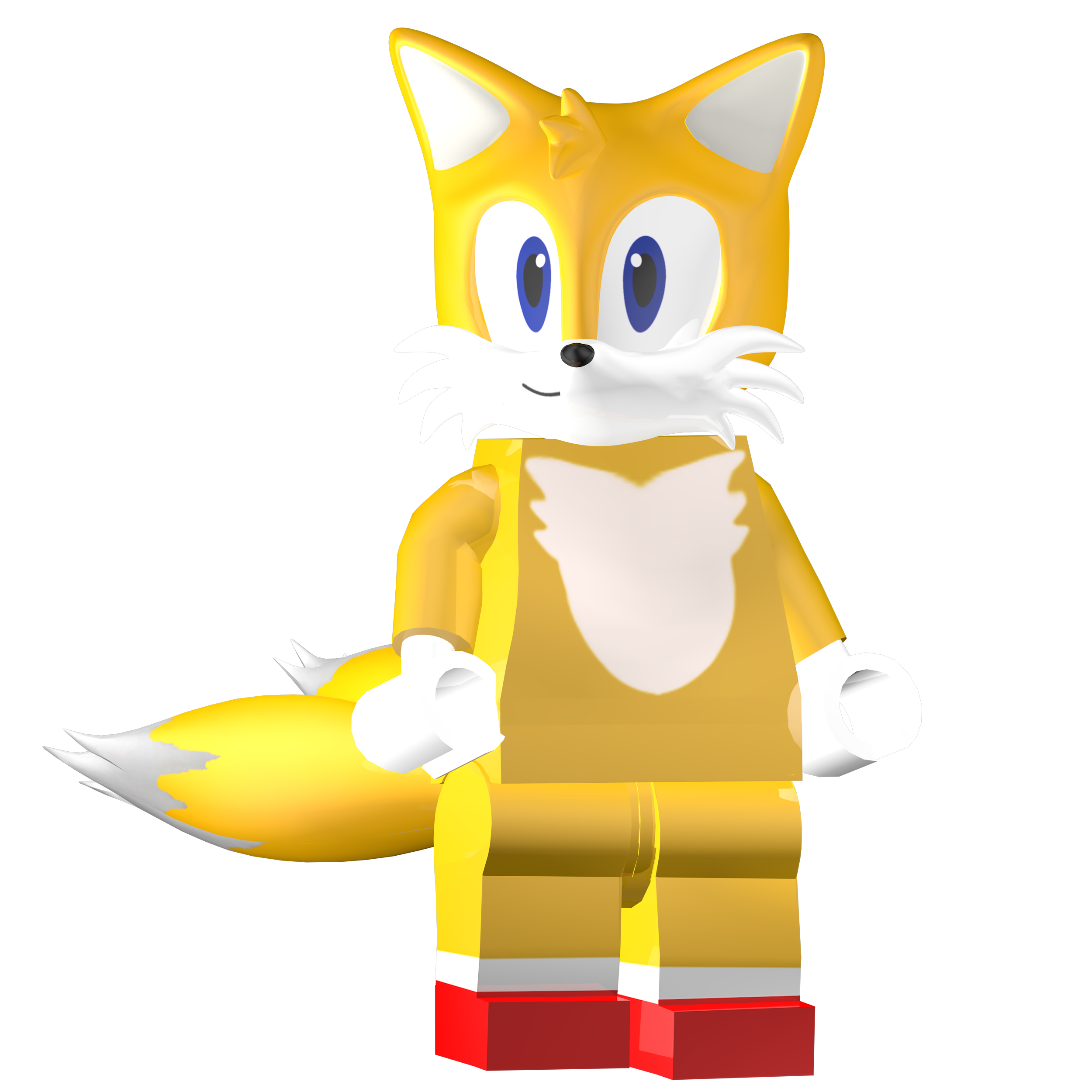 Lego Tails Render: Lego Dimensions By SonicOnBox On DeviantArt