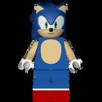 Sonic the Hedgehog Level Pack: Lego Sonic Render!