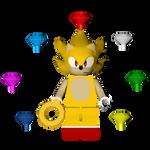 Sonic the Hedgehog Level Pack: Lego Super Sonic