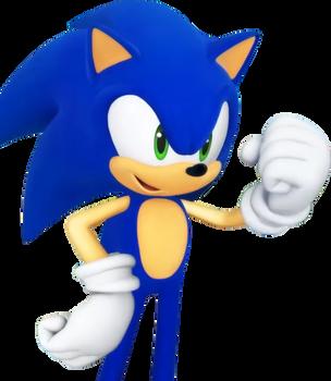Team Sonic Racing - Sonic's Idle Pose by SonicOnBox