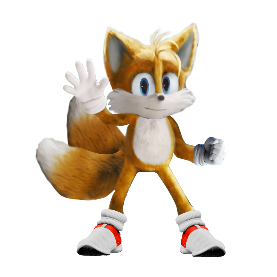 Sonic Movie Tails Idle Pose By Soniconbox On Deviantart